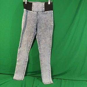 Boom boom jeans M high rise stonewashed jeggings
